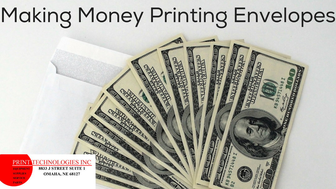 Making money printing envelopes