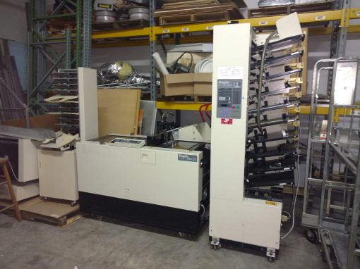 DUPLO 10000 BookletMaker System Used