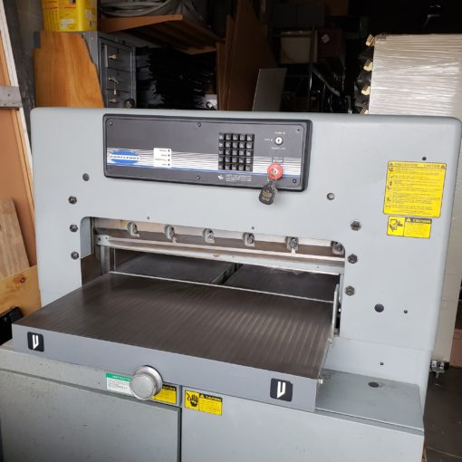 Front of a Used Challenge 305MPC Programmable Cutter
