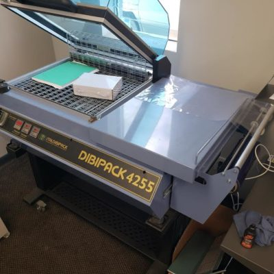 Top view of a Used Dibipack 4255 Shrinkwrap Machine
