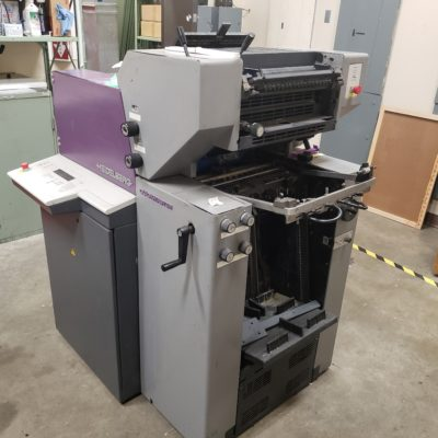 Used Heidleberg Quickmaster Press