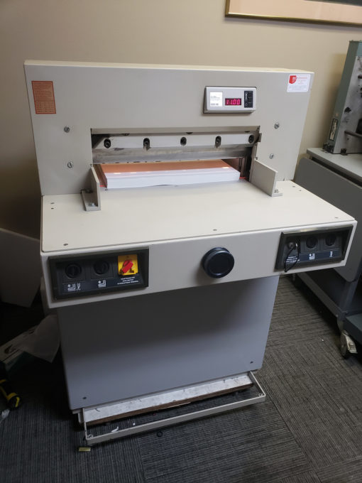 Used Triumph 5221 Cutter